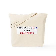 Thai Parts Tote Bag