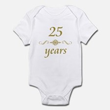 25th Anniversary Gifts Infant Bodysuit