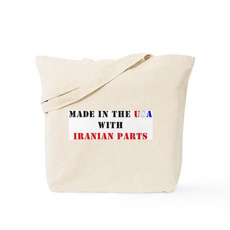 Iranian Parts Tote Bag
