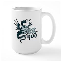 Sex God Large Mug
