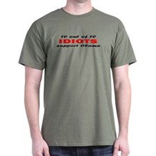 Anti Obama Idiots T-Shirt