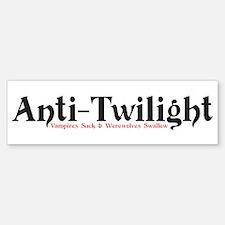 Anti-Twilight Bumper Bumper Bumper Sticker