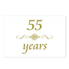 55th Anniversary Gifts Postcards (Package of 8)