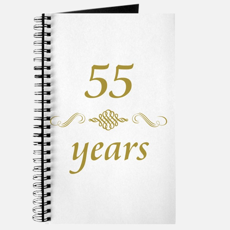 55th Anniversary Gifts Journal