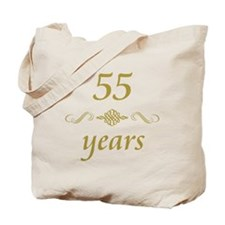 55th Anniversary Gifts Tote Bag