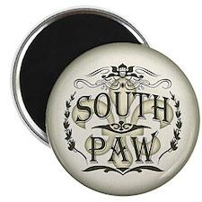 """Southpaw Fleur De Lis 2.25"""" Magnet (10 pack)"""