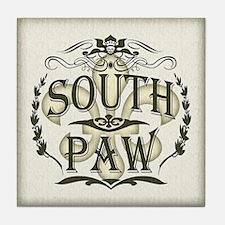 Southpaw Fleur De Lis Tile Coaster