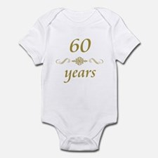 60th Anniversary Gifts Infant Bodysuit