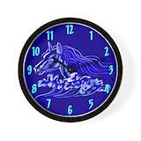 Mustang clock Wall Clocks