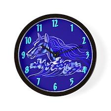 Water Horse Wall Clock