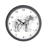 Veterinarian wall clocks Office