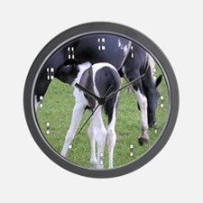 Baby Horse Wall Clock