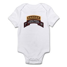 1st INF LRS Scroll with Range Infant Bodysuit
