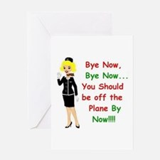 bye now (952 x 948) Greeting Cards