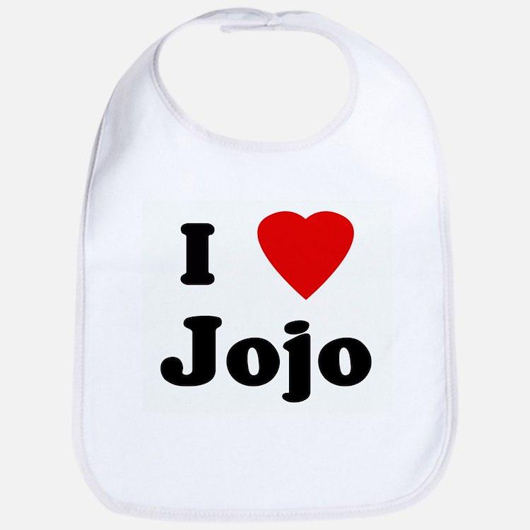 I Love Jojo Bib