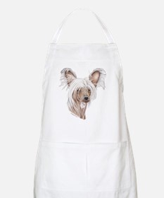 Chinese crested dog BBQ Apron