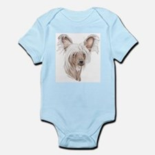 Chinese crested dog Infant Creeper