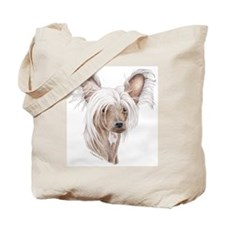Chinese crested dog Tote Bag