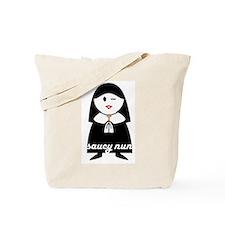 Saucy Nun Tote Bag