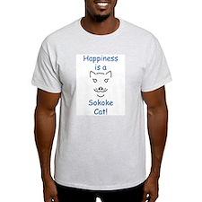 Sokoke Cat Ash Grey T-Shirt