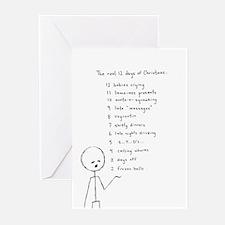 Christmas - The Real 12 Days (Pk of 10)