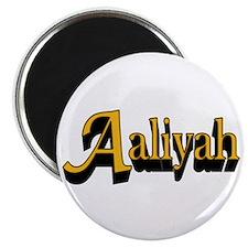 "Aaliyah Name 2.25"" Magnet (100 pack)"