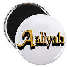 "Aaliyah Name 2.25"" Magnet (10 pack)"