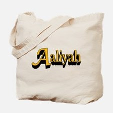Aaliyah Name Tote Bag
