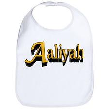 Aaliyah Name Bib