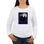 Rooster Ghost Women's Long Sleeve T-Shirt