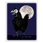 Rooster Ghost Small Poster