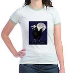 Rooster Ghost Jr. Ringer T-Shirt
