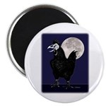 """Rooster Ghost 2.25"""" Magnet (10 pack)"""