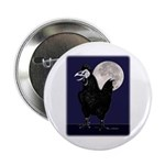 """Rooster Ghost 2.25"""" Button"""