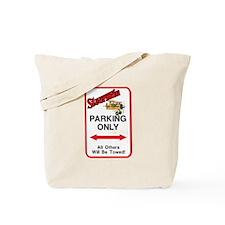 STEARMAN PARKING ONLY Tote Bag