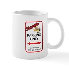 STEARMAN PARKING ONLY Mug