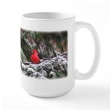 Snowy Cardinal Mug
