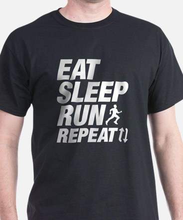 Eat Sleep Run Repeat T-Shirt