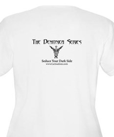 Logo_White_Large Plus Size T-Shirt