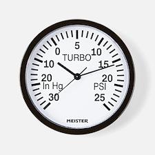 Boost Gauge Wall Clock