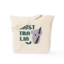 Australia Koala Bear Vintage Tote Bag
