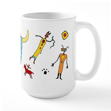 Sacred Circle - Large Mug