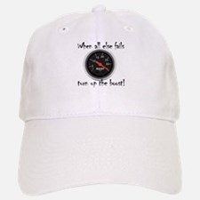 When all else fails, turn up the boost! Baseball Baseball Cap