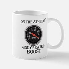 God Created Boost Mug