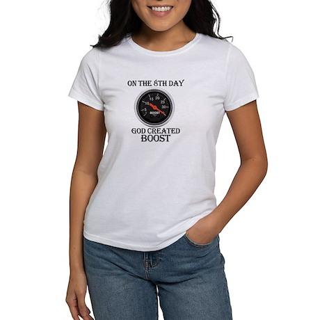 God Created Boost Women's T-Shirt
