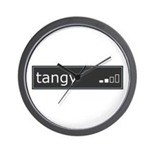 Tangy Wall Clock