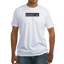 Piquant Fitted T-Shirt