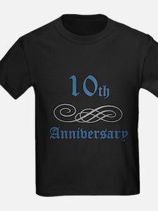 Elegant 10th Anniversary T
