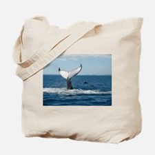 Whale Watch Tote Bag