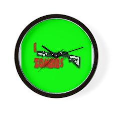 I shotgun zombies! Wall Clock